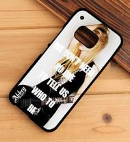 Avril Lavigne Quotes Custom HTC One X M7 M8 M9 Case