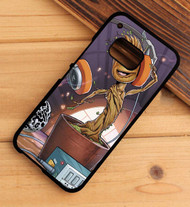 Baby Groot Guardians Of The Galaxy Custom HTC One X M7 M8 M9 Case