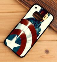 Captain America Custom HTC One X M7 M8 M9 Case