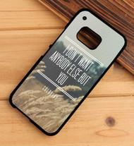 Coldplay Magic Lyrics Custom HTC One X M7 M8 M9 Case