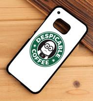 Despicable minions coffee Custom HTC One X M7 M8 M9 Case