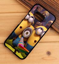 Halloween Minions Custom HTC One X M7 M8 M9 Case