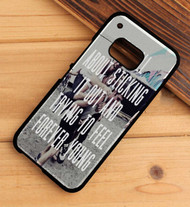 Somewhere in Neverland - All Time Low Custom HTC One X M7 M8 M9 Case