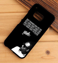 Wale Quotes Custom HTC One X M7 M8 M9 Case