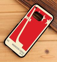 Washington Capitals NHL Custom HTC One X M7 M8 M9 Case