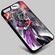 Joker and Harley Quinn Batman (1) on your case iphone 4 4s 5 5s 5c 6 6plus 7 Samsung Galaxy s3 s4 s5 s6 s7 HTC Case