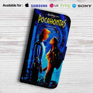 Disney Pocahontas and Smith Love Leather Wallet iPhone 5 Case