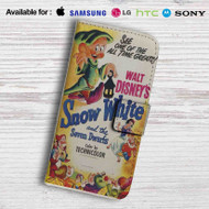 Disney Snow White and The Seven Dwarfs Leather Wallet iPhone 5 Case