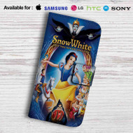 Snow White and The Seven Dwarfs Leather Wallet iPhone 5 Case