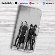 Fall Out Boy Leather Wallet iPhone 5 Case