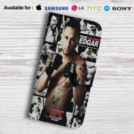 Frankie The Answer Edgar Leather Wallet iPhone 5 Case