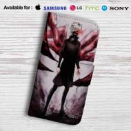 Ken Kaneki Tokyo Ghoul Leather Wallet iPhone 5 Case