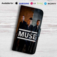 Muse Leather Wallet iPhone 5 Case