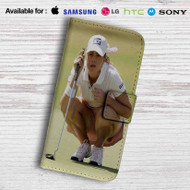 Paula Creamer Leather Wallet iPhone 5 Case