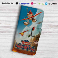 Planes Fire and Recue Disney Leather Wallet iPhone 5 Case
