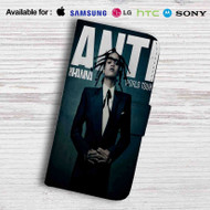 Rihanna Anti World Tour Leather Wallet iPhone 5 Case