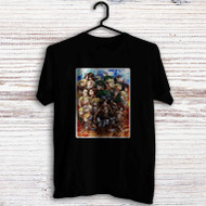 Attack on Titan Shingeki no Kyojin Characters Custom Men Woman T Shirt