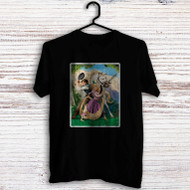 Disney Tangled Rapunzel Flynn and Maximus Custom Men Woman T Shirt