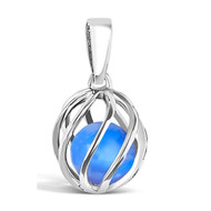 September Birthstone -- Blue Agate