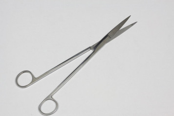 10IN Stainless Steel Aquarium Scissors - Straight Type - Mirror Surface