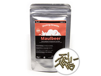 GlasGarten Shrimp Snacks Maulbeer (Mulberry) 30g