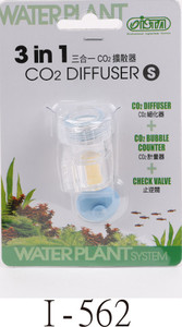 Ista CO2 Diffuser (3 in 1) - Small