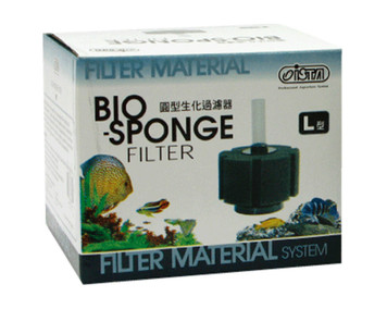 ISTA BIO SPONGE FILTER - ROUND BIO FOAM - Large (up to 30 GALLON)