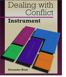 Dealing with Conflict Instrument 360 Feedback Set