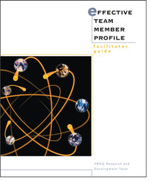 Effective Team Member Profile Facilitator Set