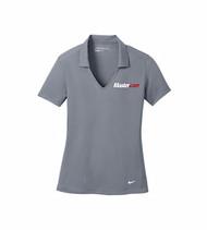 Nike® Golf Ladies Dri-FIT Vertical Mesh Cool Grey Polo