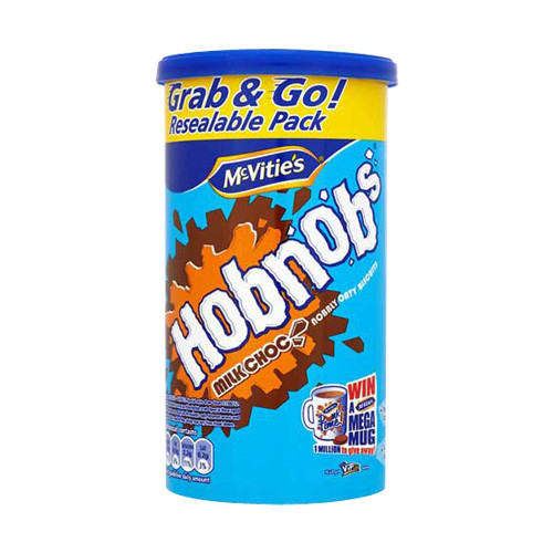 McVities Milk Chocolate Hobnobs (250g / 8.8oz)