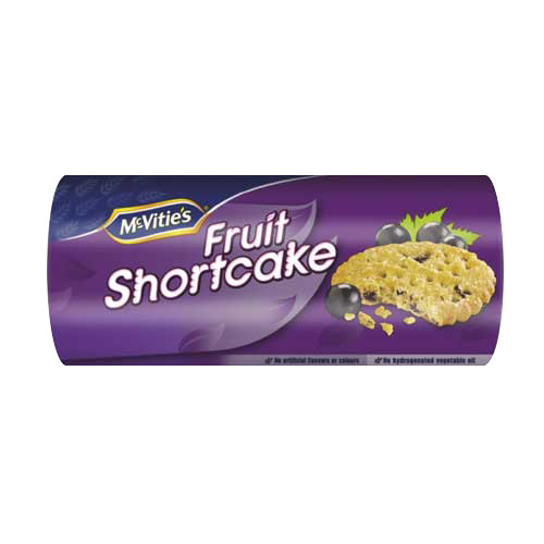 Mcvities Fruit Shortcake (200g / 7oz)