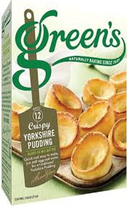 Green's Crispy Yorkshire Pudding Mix (125g / 4.5oz)