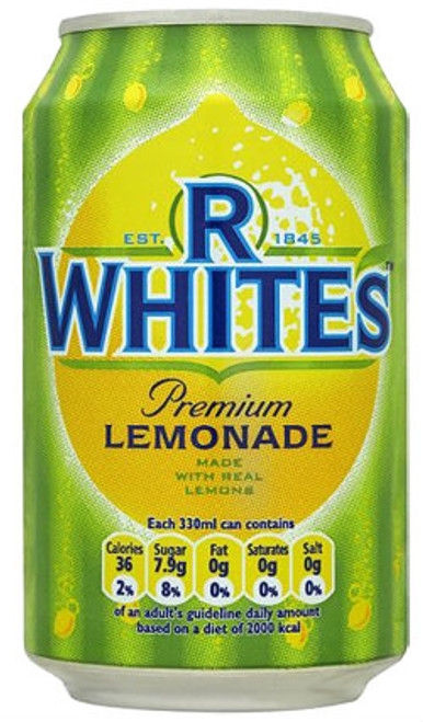 R. Whites Lemonade (330ml / 11 floz)