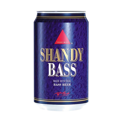 Bass Shandy Soda (330ml / 11fl oz)