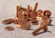 #9 Solid Copper Rivets