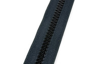 #10VF YKK ®Nylon Molded Tooth Zipper Chain, Black (91100MBK)