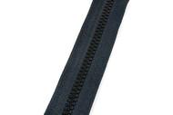#5VF YKK® Nylon Molded Tooth Zipper Chain, Black (91050MBK