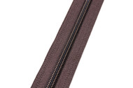 #5CI YKK® Self-Correcting Coil Zipper Chain, Brown (91050CSB)
