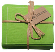 Pistachio Cotton Folded Napkin