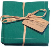 Emerald Cotton Folded Napkin