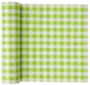 Pistachio Vichy Cotton Printed Luncheon Napkin