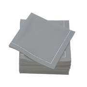 Pearl Grey  Cotton Folded  Luncheon Napkins -  600 units per case