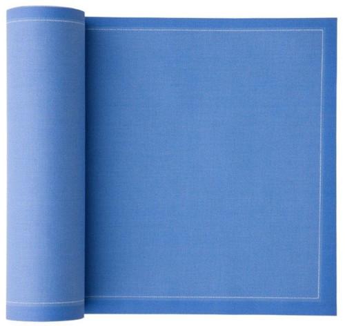 Sea Blue Cotton Luncheon Napkin