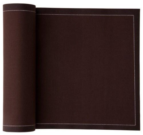 Chocolate Brown Cotton Luncheon Napkin