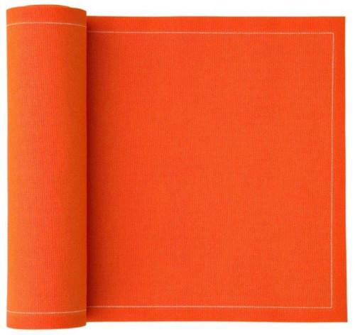 Orange Cotton Luncheon Napkin
