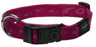 Rogz Alpinist Extra Large 25mm Everest Dog Collar, Pink Rogz Design(HB27-K)