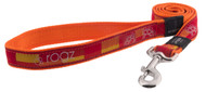 Rogz Fancy Dress Small 11mm Jellybean Fixed Dog Lead, Tango Paw Design(HL01-BQ)