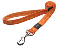 Rogz Alpinist Extra Large 25mm Everest Fixed Dog Lead, Orange Rogz Design(HL27-D)