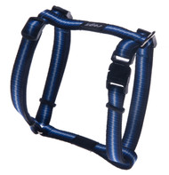 Rogz Pavement Special Small 11m Midget Dog H-Harness, Blue Design